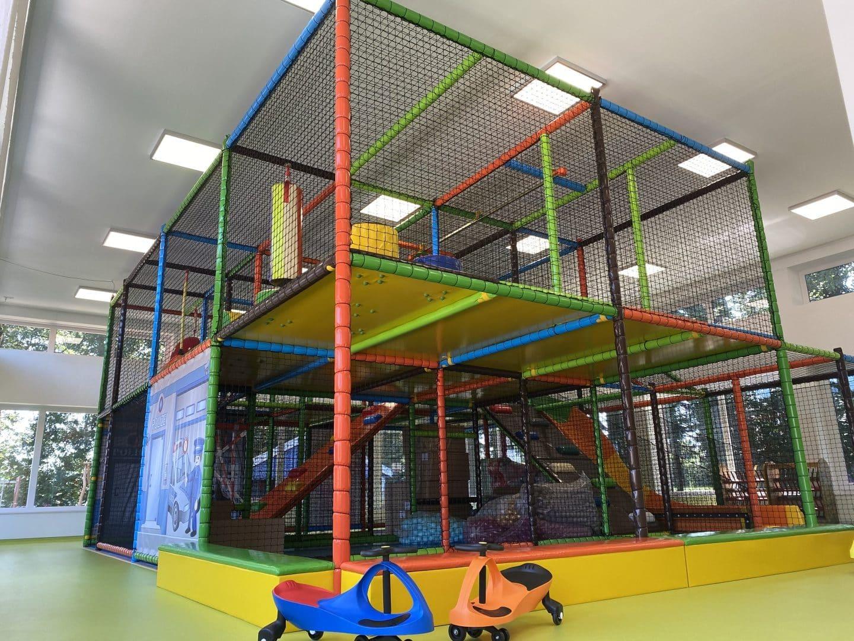 Familotel Gut Landegge Indoor Spielhalle Softplay Softplayanlage Familienhotel