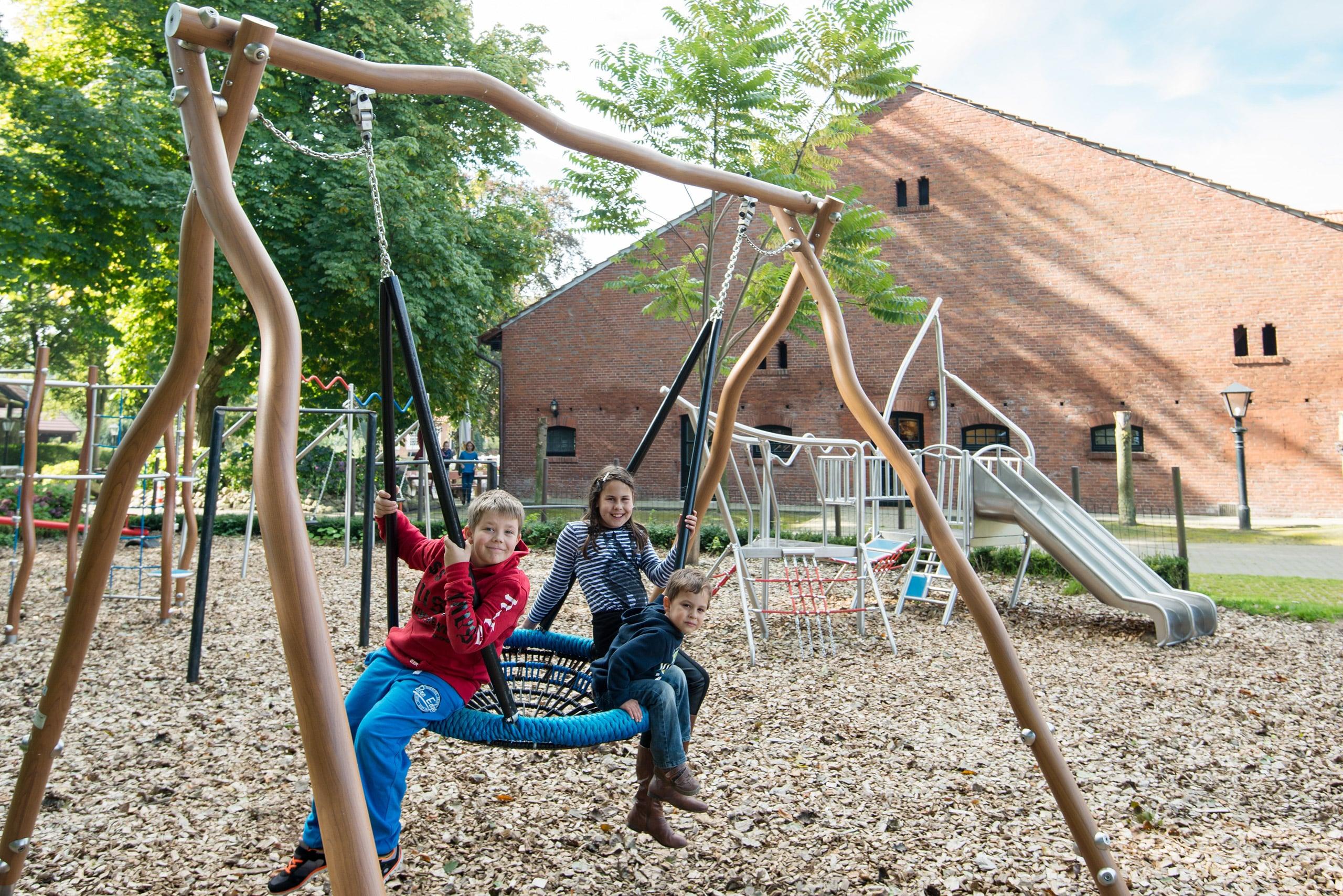 Gut Landegge Familotel Emsland Abenteuerspielplatz Familienhotel