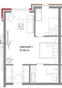 Familienappartement im Familienhotel Gut Landegge Emsland