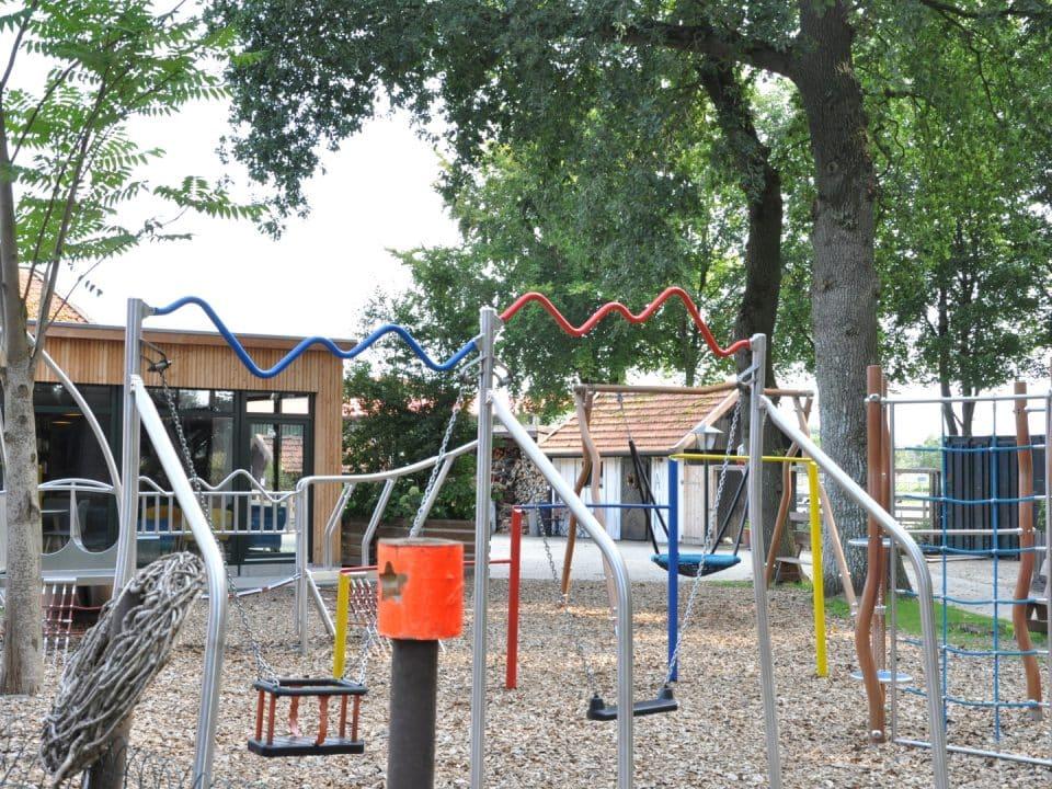 Familienhotel Gut Landegge Emsland Spielplatz Outdoorspielplatz