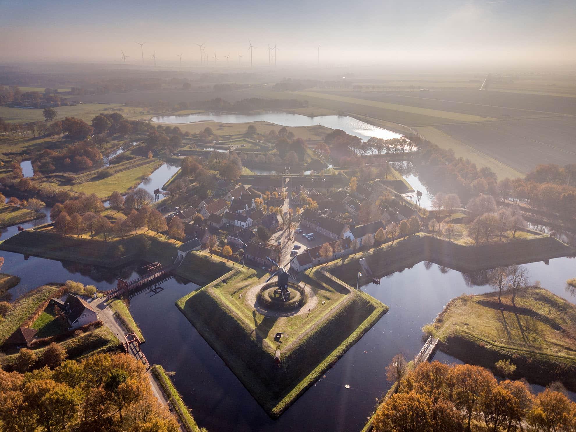 Familotel Gut Landegge Umgebung Ausflüge Festung Bourtange Niederlande