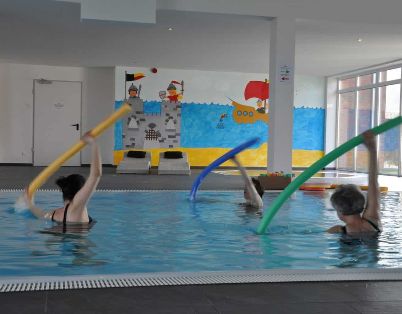 Aquafitness im Gut Landegge Familotel Emsland