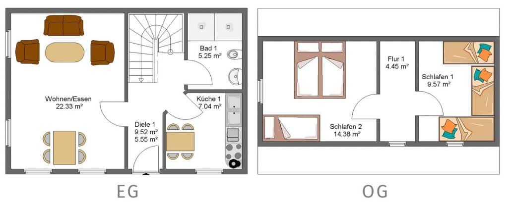Knusperhaus Familienzimmer Gut Landegge