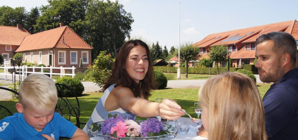 Gut Landegge Familotel Emsland Familienurlaub Restaurant Kids All-Inclusive